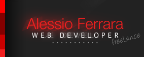 Alessio Ferrara web developer freelance