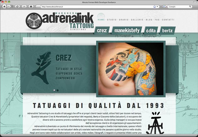 Adrenalink Tattooing
